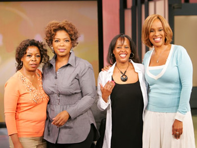 Oprah, Gayle and their look-alikes