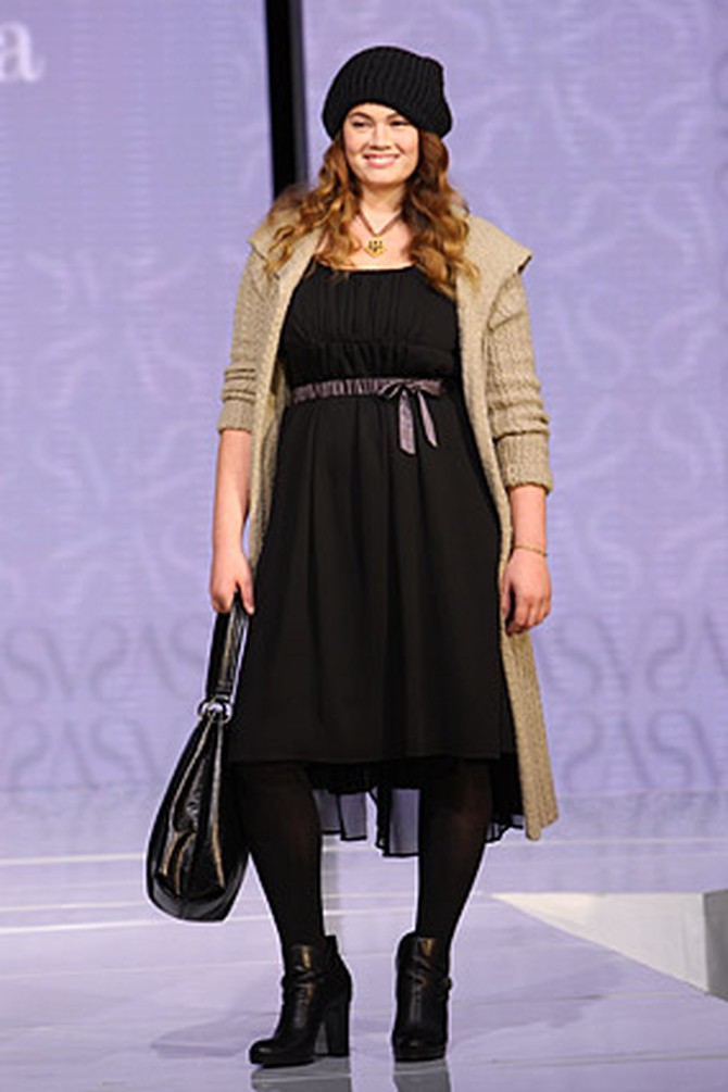 Simply Vera dress and sweater coat