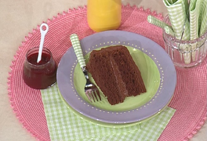 Jessica Seinfeld's chocolate cake with beets