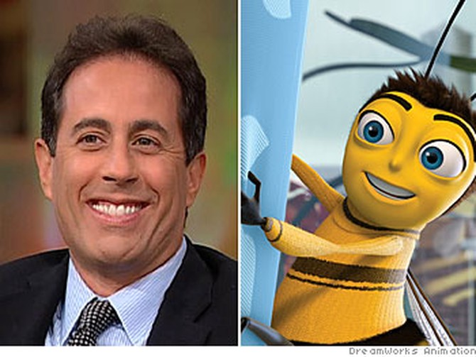 Jerry Seinfeld plays Barry B. Benson in 'Bee Movie'
