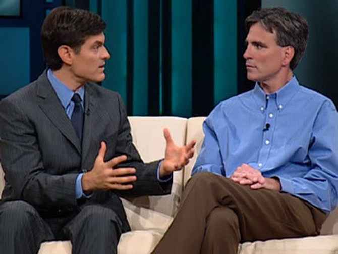 Dr. Oz and Randy Pausch
