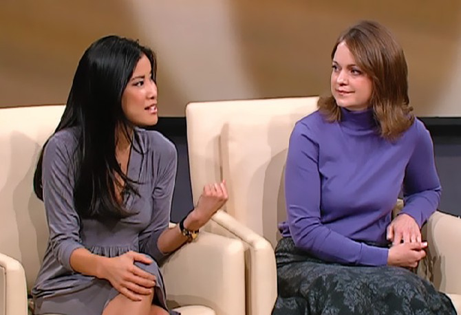 Lisa Ling and Carolyn Jessop