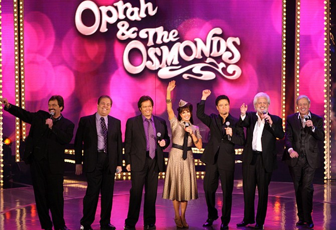 Marie and the Osmond brothers