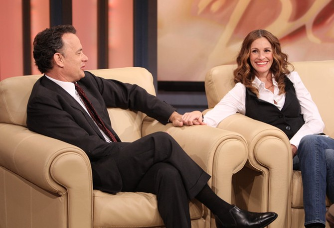 Tom Hanks and Julia Roberts