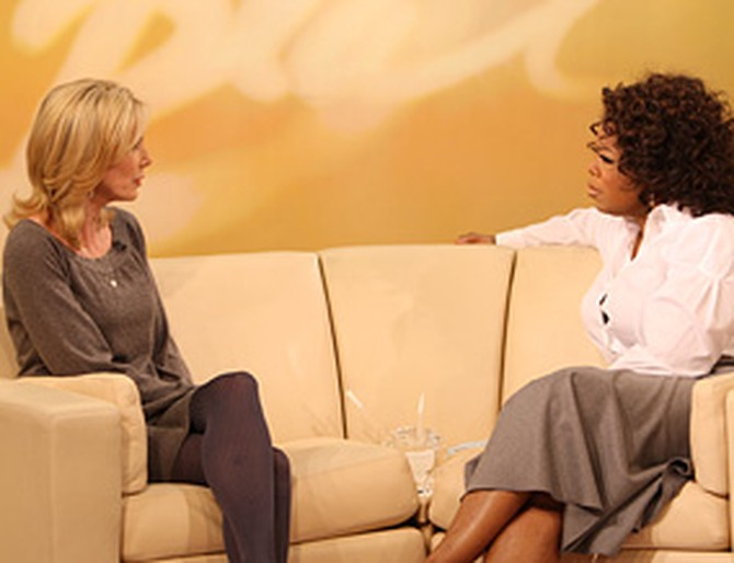 Beth Holloway and Oprah