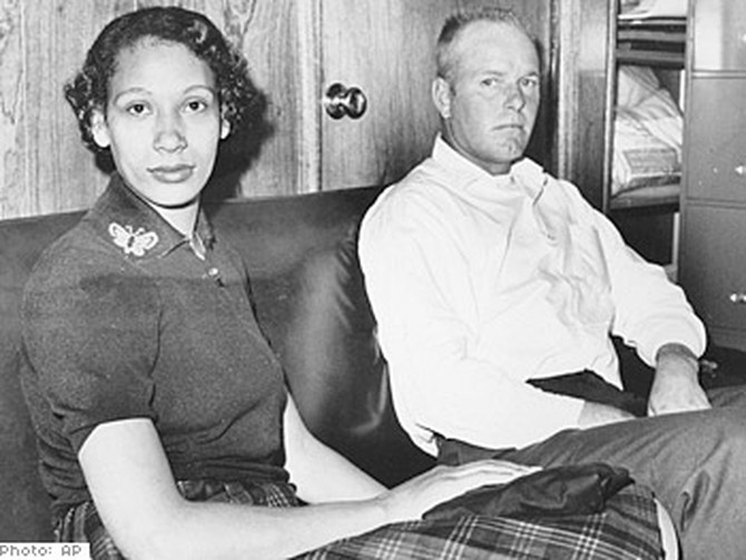 Mildred Jeter and Richard Loving