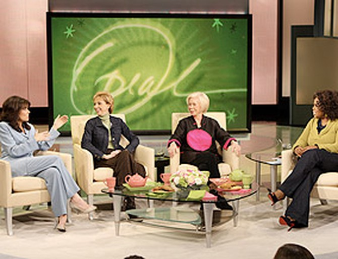 Louise Hay, Martha Beck and Cheryl Richardson like vision boards.