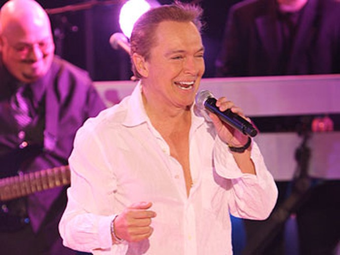 David Cassidy performs 'I'll Meet You Halfway.'
