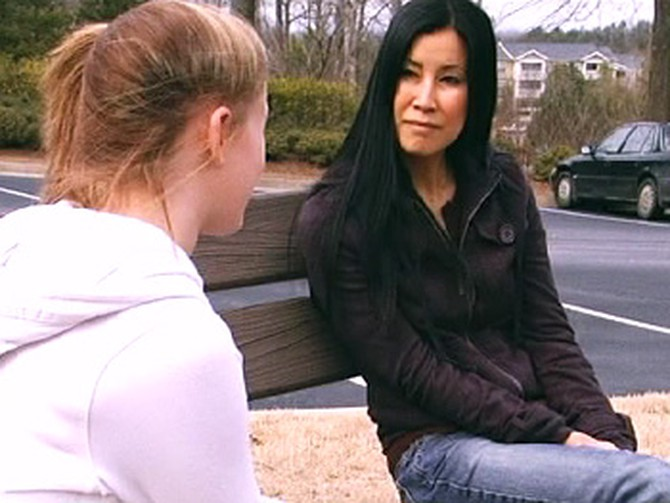 Sydney and Lisa Ling