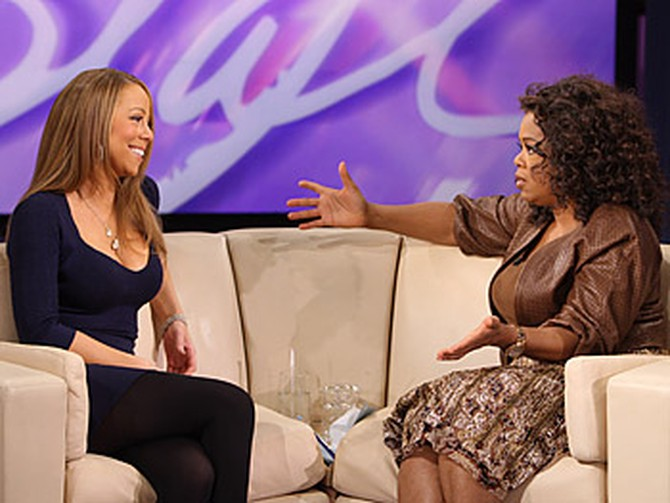 Mariah Carey talks about her previous marriage.