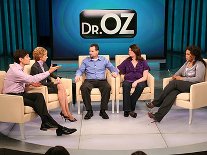 Wendie, Tony, Dr. Oz and Martha Beck