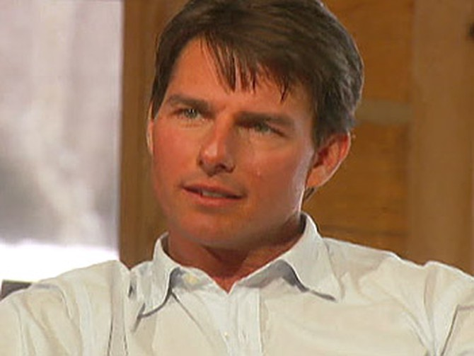 Tom Cruise talks about his 2005 visit to Oprah's couch.