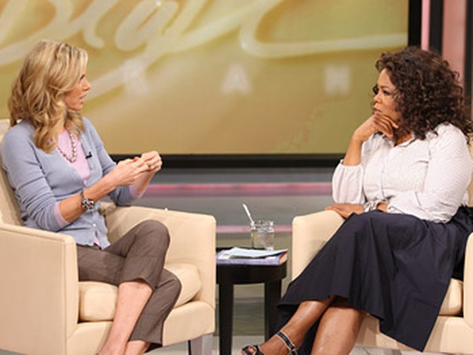 Kathy Freston and Oprah talk about the 21-day cleanse.