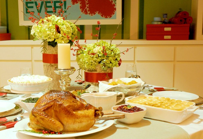 Cristina Ferrare's Holiday Meal