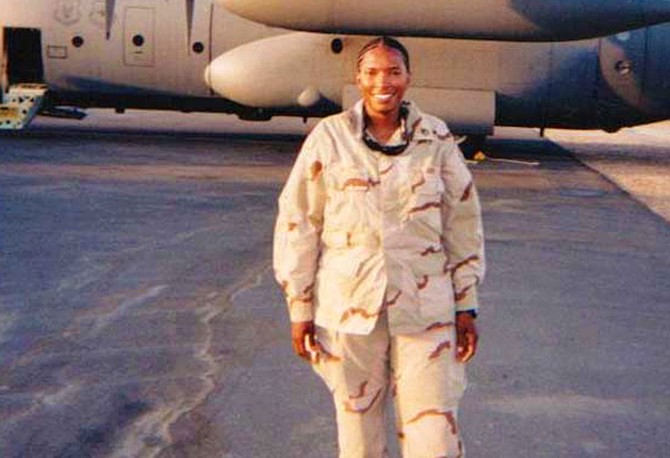 Sgt. First Class Juanita Wilson, the first American mother to lose a limb in Iraq
