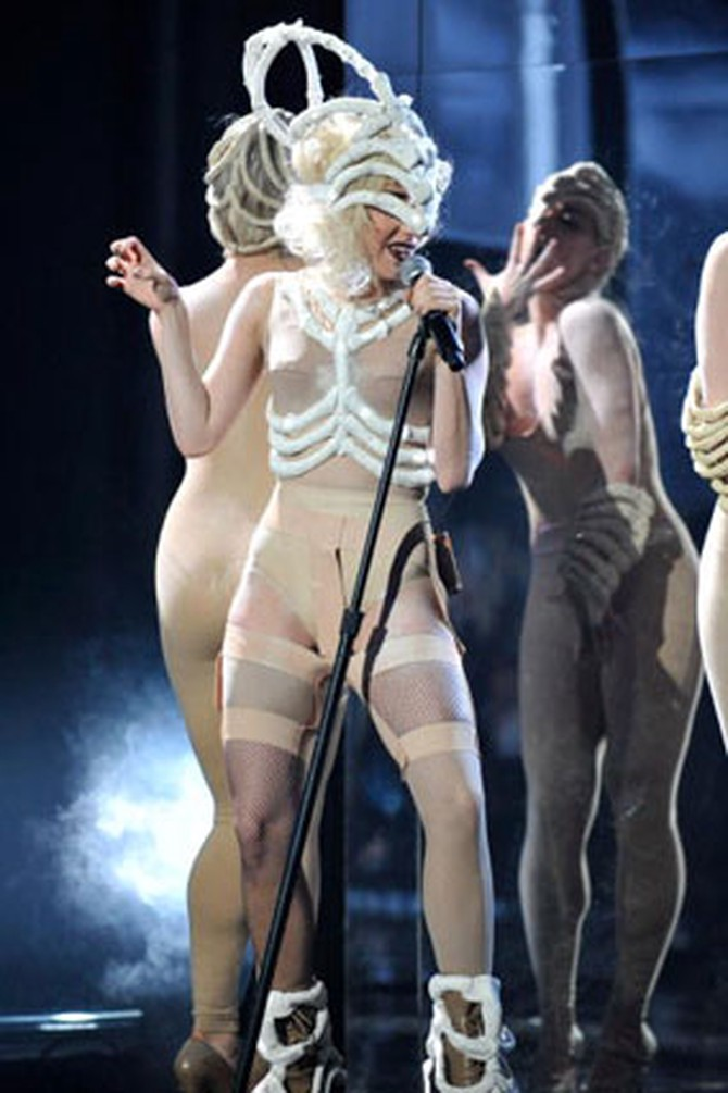 Lady Gaga's AMAs outfit