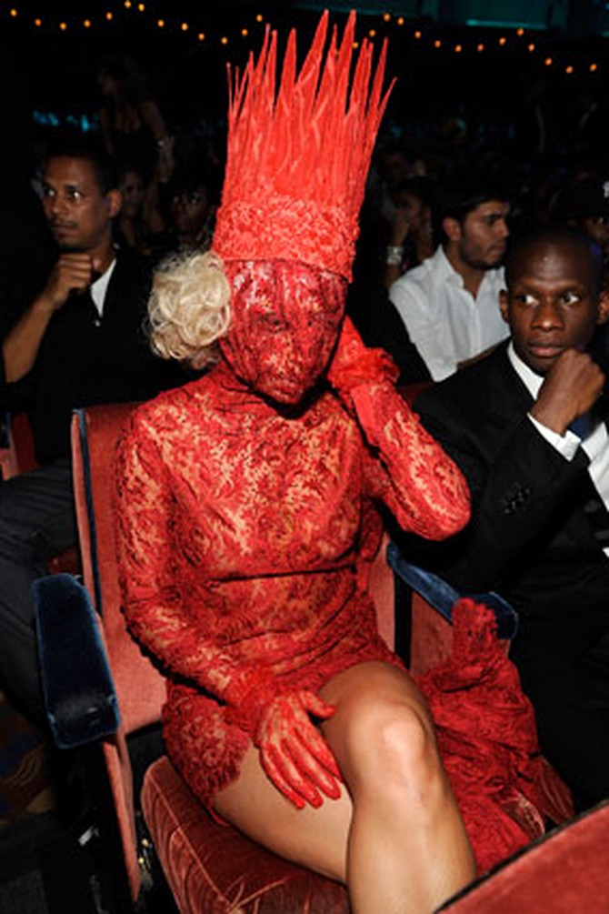 Lady Gaga's VMA outfit