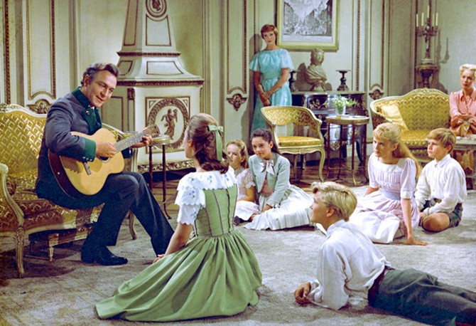 The Sound of Music final scene