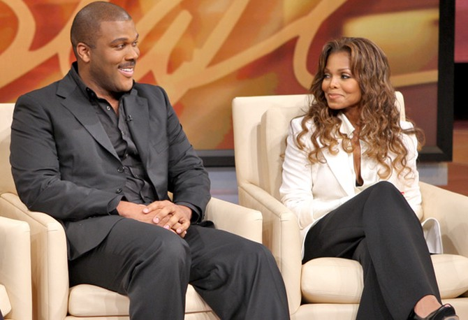 Tyler Perry on The Oprah Show in 2007
