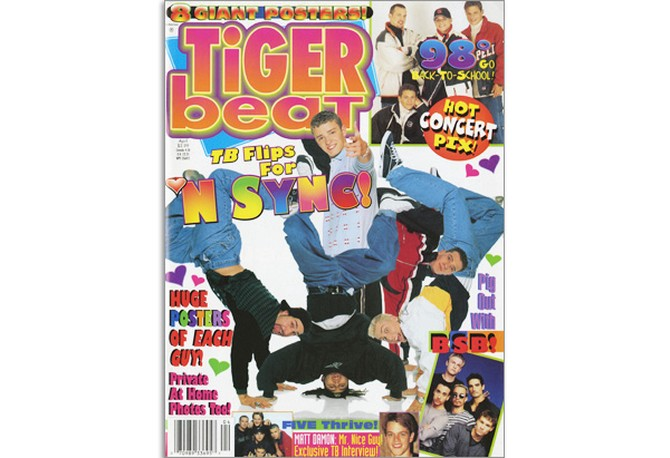 April 1999 Tiger Beat cover