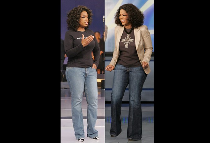Oprah's Bra and Jean Intervention