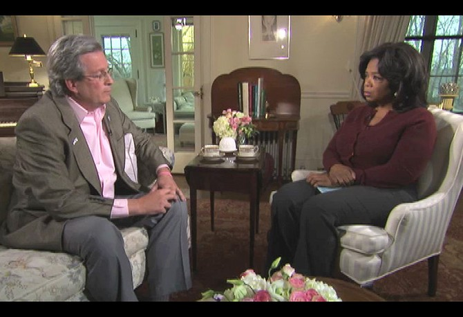Oprah and Dr. William Petit