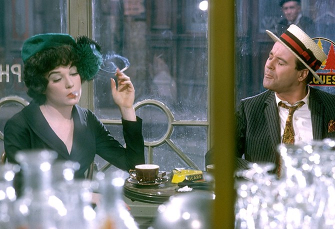 Shirley MacLaine and Jack Lemmon in Irma La Douce