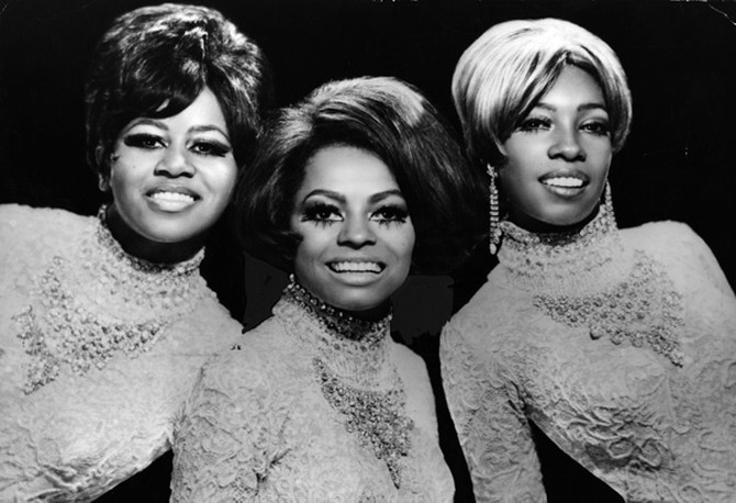 The Supremes: Diana Ross, Mary Wilson, Cindy Birdsong
