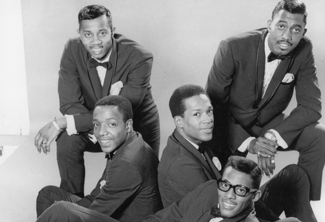 The Temptations in 1965