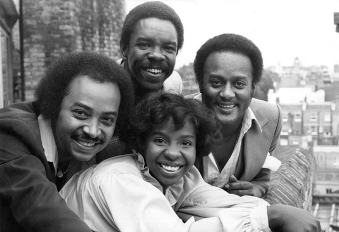 Gladys Knight and the Pips in 1978