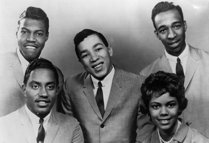 Smokey Robinson and the Miracles in 1961