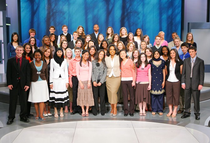 The 50 students who got college scholarships