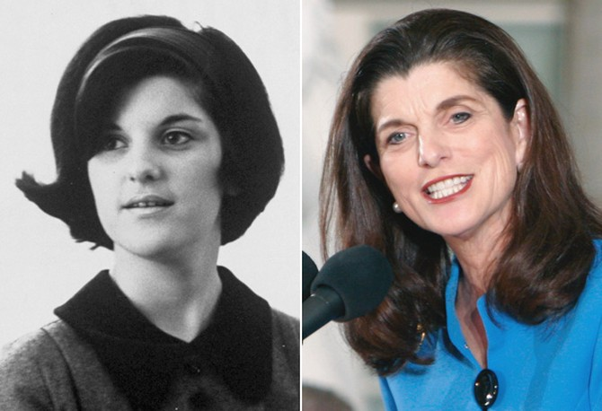 Luci Baines Johnson Turpin in 1966 and 2008