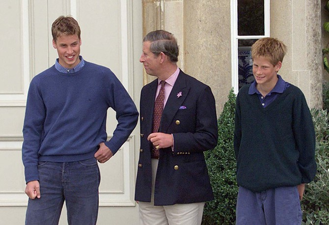 Prince William at age 17