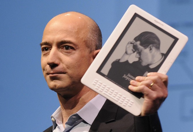 Amazon.com founder Jeff Bezos
