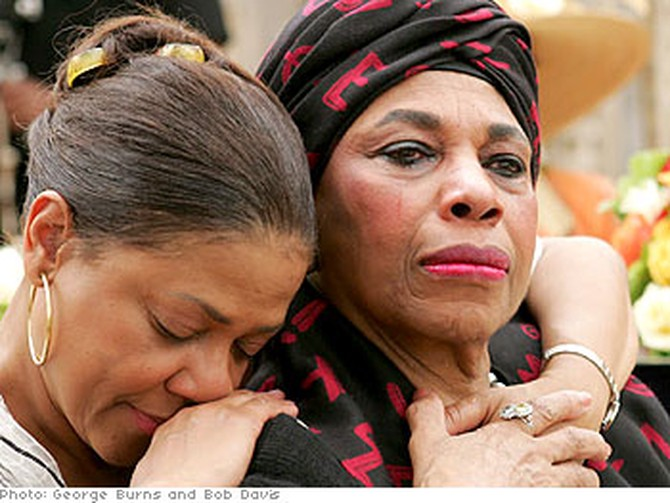 Kathleen Battle and Leontyne Price