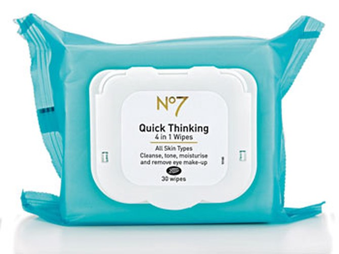 Boots No 7 wipes